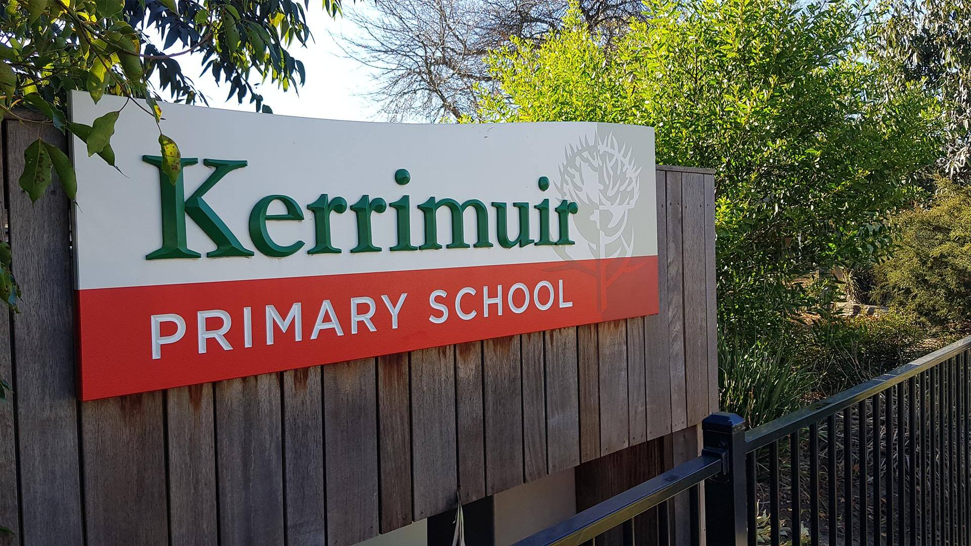Kerrimuir Sign